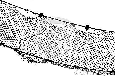 Bw della rete da pesca immagini stock immagine 15929124 for Rete da pesca arredamento
