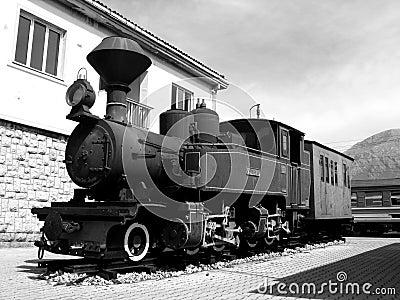 BW old train