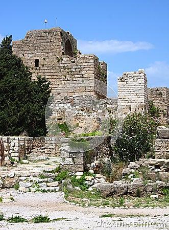 Byblos Crusader Castle, (Lebanon)