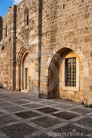 Byblos Crusader St John Church