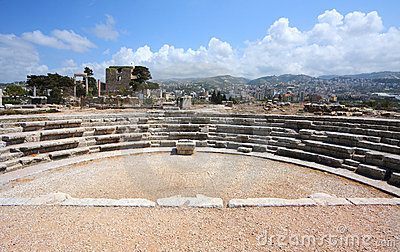 Byblos Wide Angle View (Lebanon)