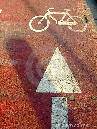 Free Bycicle Path Royalty Free Stock Images - 6092779
