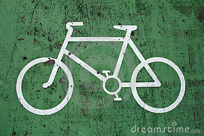 Bycicle sign