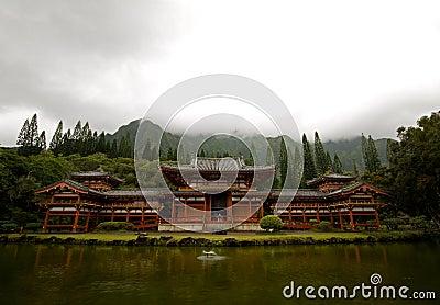 Byodo-Dans le temple