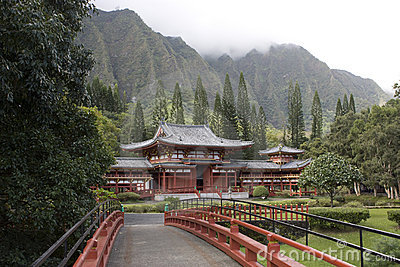 Byodo-In Temple in Hawaii