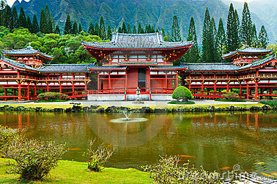 Byodo-In Temple, Oahu