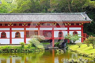 Byodo-in temple rear