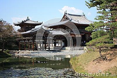 Byodoin Phoenix hall temple, Uji, Kyoto Japan