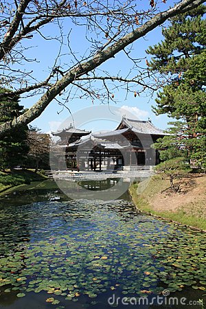 Byodoin Phoenix hall temple, Uji, Kyoto Japan
