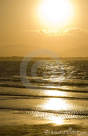 Byron Bay Golden Sunset