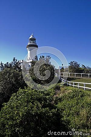 Free Byron Bay Lighthouse Royalty Free Stock Photos - 54658548