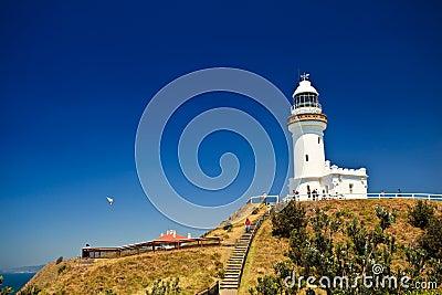 Byron Bay Lighthouse Rises High on Point