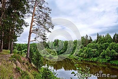 Bystritsa river