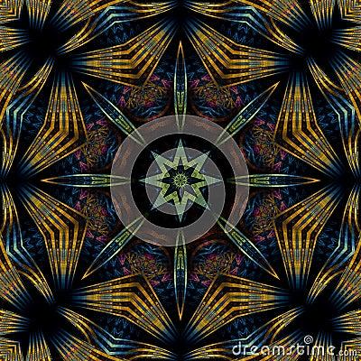 Free Byzantine Compass Mandala Royalty Free Stock Images - 5463049