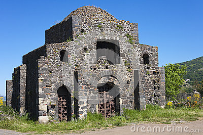 Byzantine temple ruin