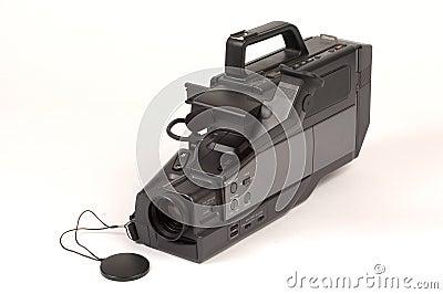 Câmara de vídeo do VHS