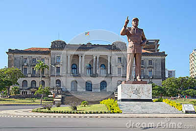 Câmara municipal em Maputo, Moçambique