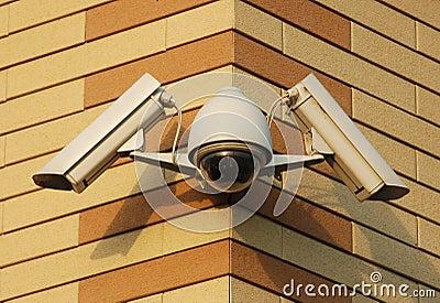 Câmaras de vídeo da segurança