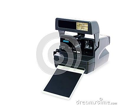 Câmera de Polaroid