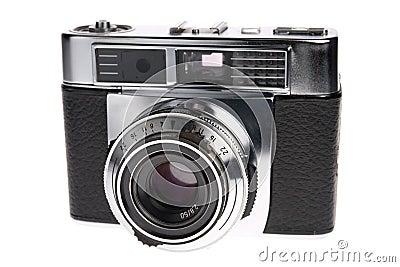 Câmera do Rangefinder da película do vintage
