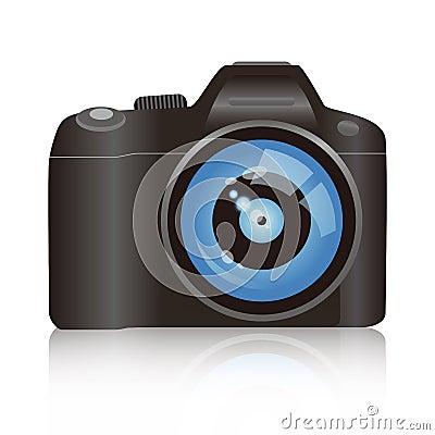 Câmera do vetor