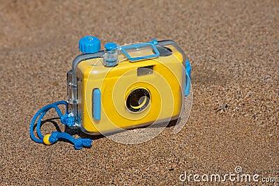 Câmera impermeável