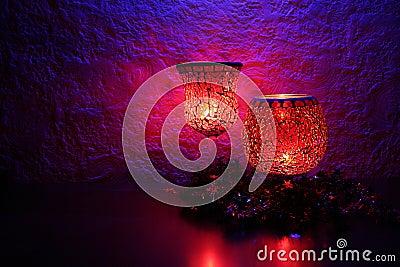 Célébration II de lueur de chandelle