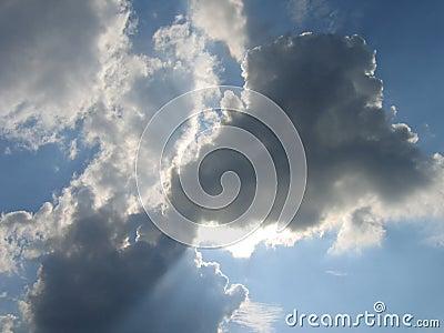 Céu azul em Baviera