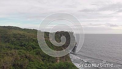 Côte rocheuse de l'océan clips vidéos