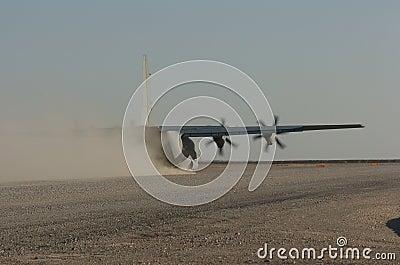 C-130 Hercules Editorial Image