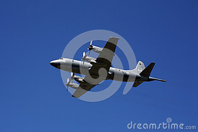 C-130 Hercules at CNE 2012 Editorial Stock Image
