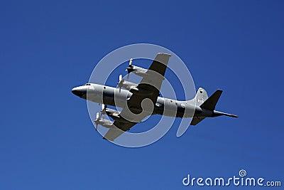 C-130 Hercules at CNE 2012 Editorial Stock Image