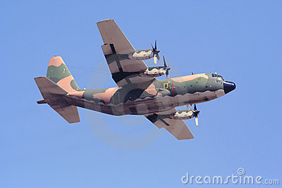 C-130H Hercules Transport Aircraft