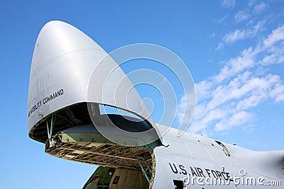 C-5 Galaxy Editorial Photo