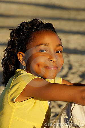 Free C - African-American Girl 16 Stock Images - 10344374