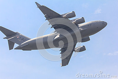 C-17 Globemaster Editorial Stock Photo