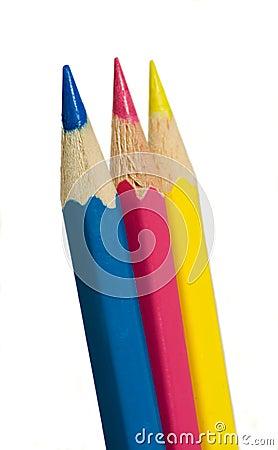 C-M-Y pencils