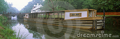 C&O Canal and canal boat