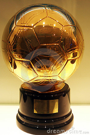 Free C. Ronaldo Golden Football Stock Photo - 6749730