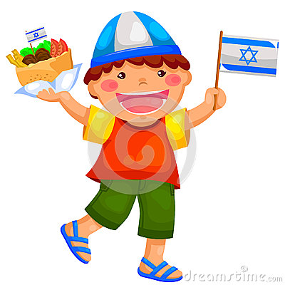 Miúdo israelita