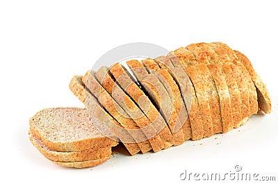 Całość zbożowego chleba