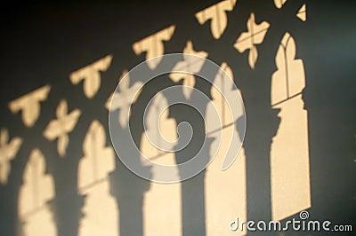 Ca D Oro - ombre sulla parete
