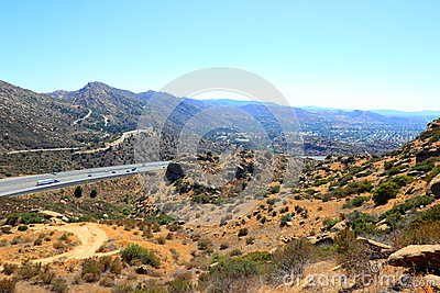CA-118 highway in Simi Valley