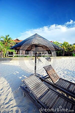 Cabana by the beach