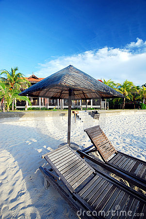 Free Cabana By The Beach Stock Images - 3056994