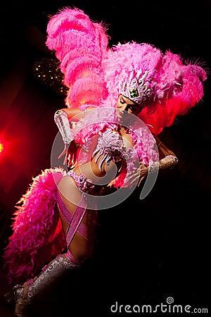 Free Cabaret Dancer Stock Images - 17327514