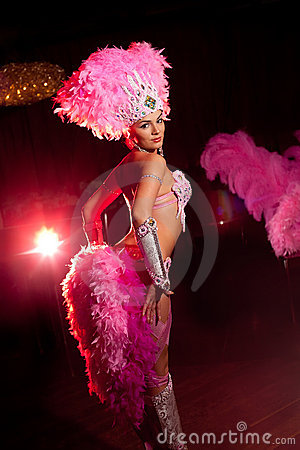 Free Cabaret Dancer Royalty Free Stock Photography - 17327597