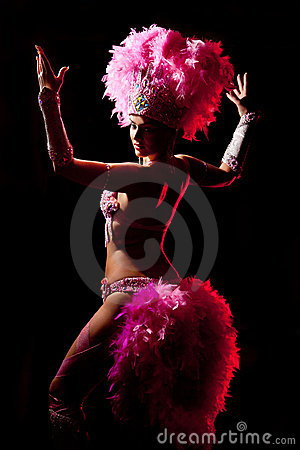 Free Cabaret Dancer Royalty Free Stock Photography - 17356617