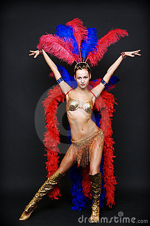 Free Cabaret Dancer Stock Image - 6173791