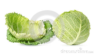 Cabbage leaves and cabbage